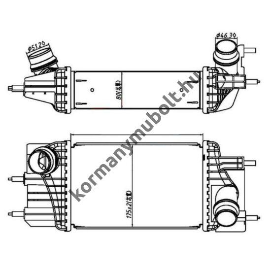 Nissan Navara Intercooler 14461-VK50A
